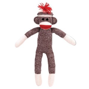 Schylling sock monkey from Amazon.com
